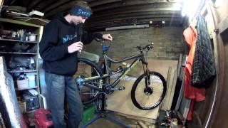 Ben Cathro - Santacruz Tallboy LTC Bike Check