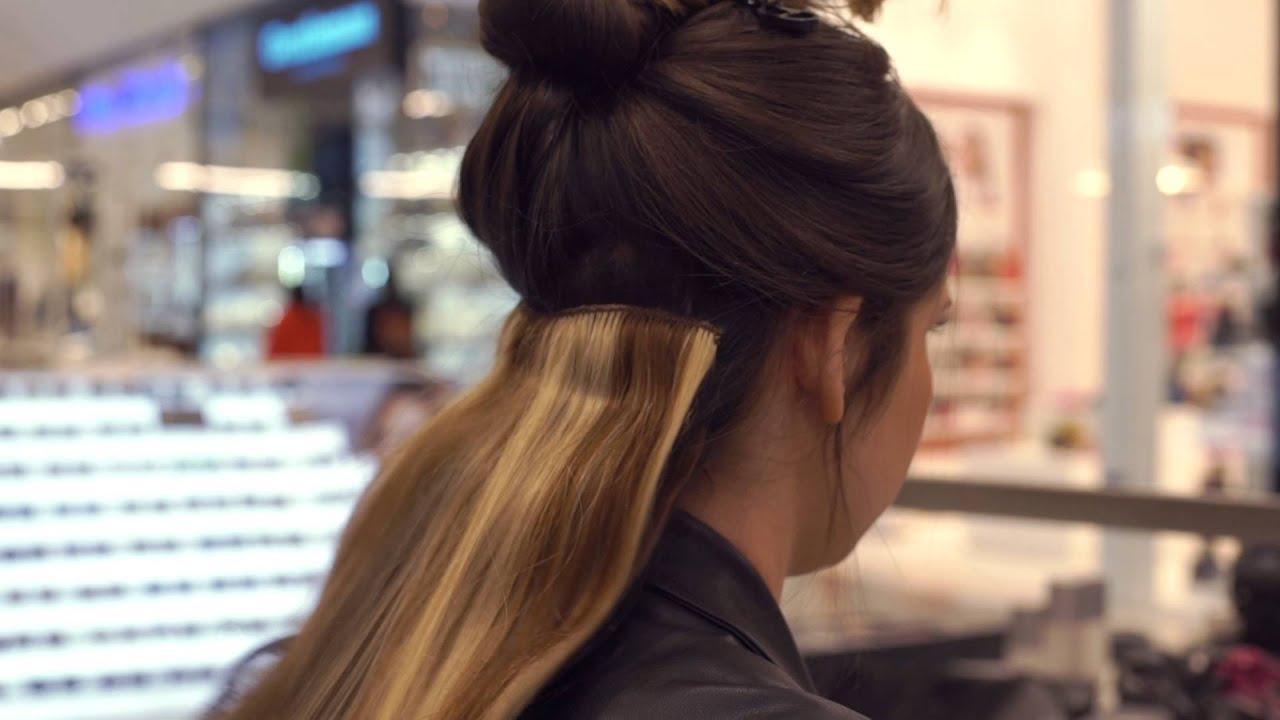 איך לשים תוספות שיער טבעיות עם קליפסים