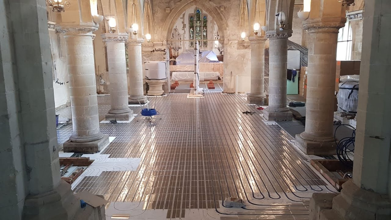 Church installation - timelapse footage