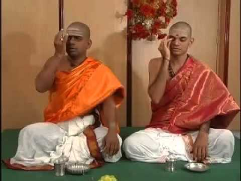 Sandhya Vandanam - Krishna Yajur Vedam - Telugu Part 4.flv