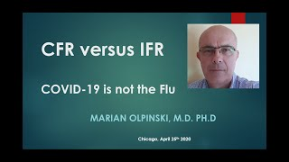 CFR versus IFR for COVID-19