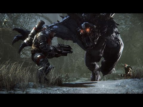 Evolve: Playing Cat and Mouse with Monsters - IGN First
