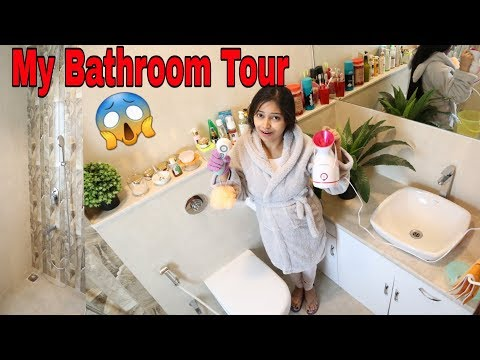 मेरा बाथरूम😊My Bathroom Tour|My Body Pamper Shower Routine|Body Care HacksBe Natural