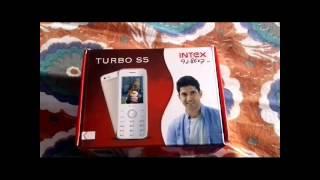 Intex Turbo S5 Unboxing Hindi