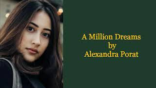 a million dreams lyrics by alexandra porat