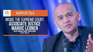 Rappler Talk: Inside the Supreme Court with Justice Marvic Leonen
