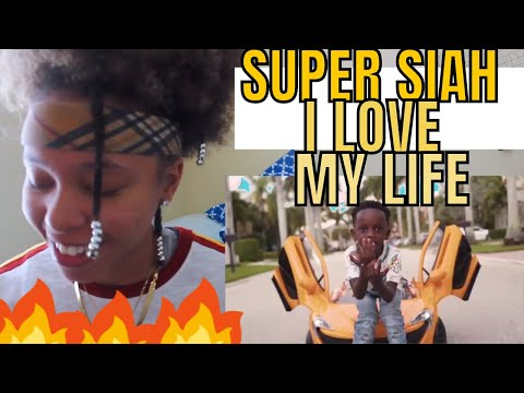 SUPER SIAH - I LOVE MY LIFE (OFFICIAL MUSIC VIDEO) REACTION!