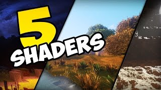 ✔ MINECRAFT: TOP 5 SHADERS REALISTAS (+ SHADERS LEVE SEM LAG)