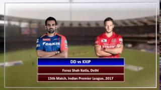 IPL 2017 : DD vs KXIP,  Delhi beat Punjab by 51 runs   Match Highlights