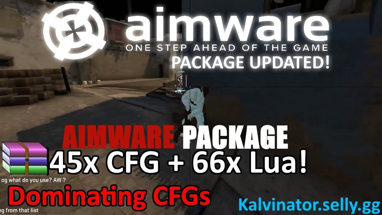 AIMWARE NET PACKAGE UPDATED!🔥TAP ONETAP!!🔥PAID CFGs🔥DOMINATING CFG🔥HVH  SCOUT/AUTO🔥