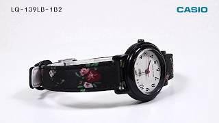 CASIO 카시오 여성 플라워시계 꽃시계 LQ-139LB-1B2