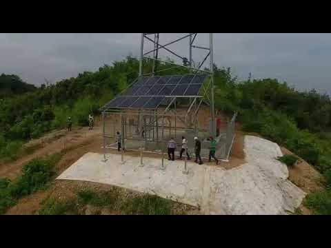 The first hybrid solar-wind turbine energy solution