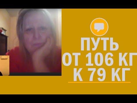 👍 Галина Сычева:  путь от 106 кг к 79 кг. Отзывы похудевших по методике похудения Игоря Цаленчука