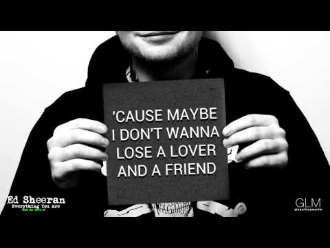 Ed Sheeran - 'Everything You Are' (Lyrics)