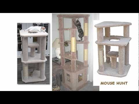 Build your own cat tree step by step instruction youtube for Cat tree steps