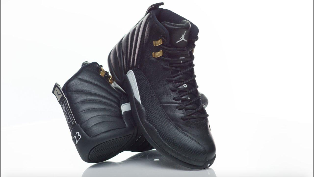 b9fb8129002403 Sneakers In 4K  Air Jordan 12 The Master - YouTube