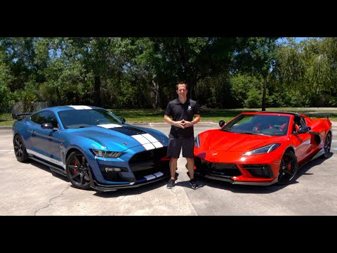 Is the 2020 Ford Shelby GT500 a BETTER performance car than the C8 Corvette?