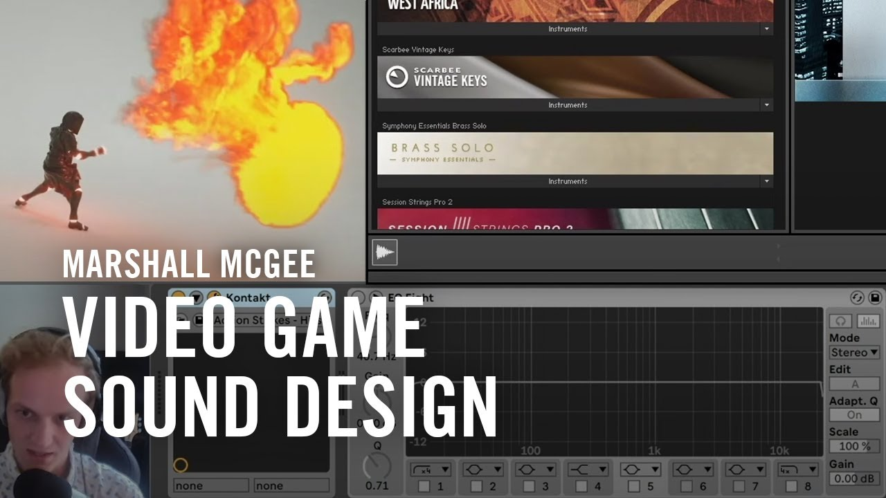 Video Game Sound Design 101 with Marshall McGee | Native Instruments
