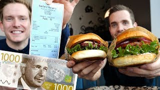 Går det att äta för 1000 kr på ett Köpcentrum?