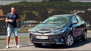2016 Toyota Corolla Тест Драйв / Едет или нет новая Королла? Игорь Бурцев