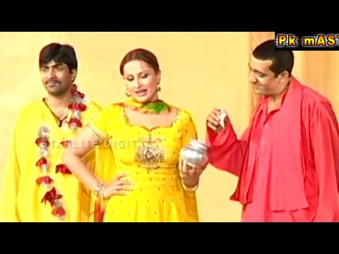 Best of Zafri Khan and Nargis Stage Drama Full Funny Comedy Clip | Pk Mast