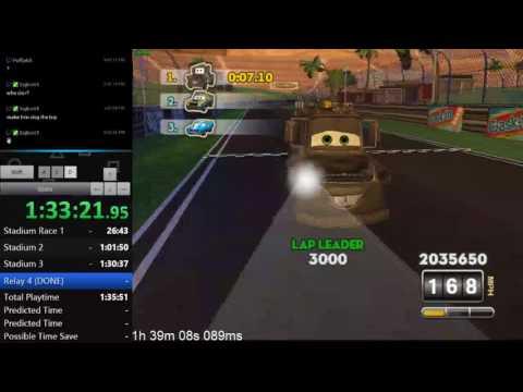 Cars: Mater-National Regular Events All Ablilites Speedrun in 1:33:21.084 *WR*