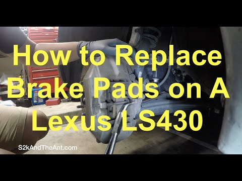 Lexus LS430 | How to Replace Brake Pads and No Cost Brake Sensor Fix