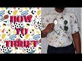 How to Thrift | Thrifting tips