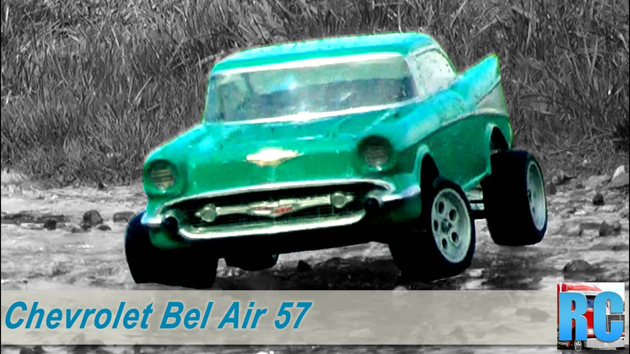 Rc Car Chevrolet Chevy Bel Air 57 With Vintage Kyosho