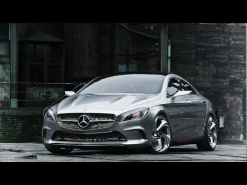 Beijing: Stunning New Mercedes Concept, New Images (Video)