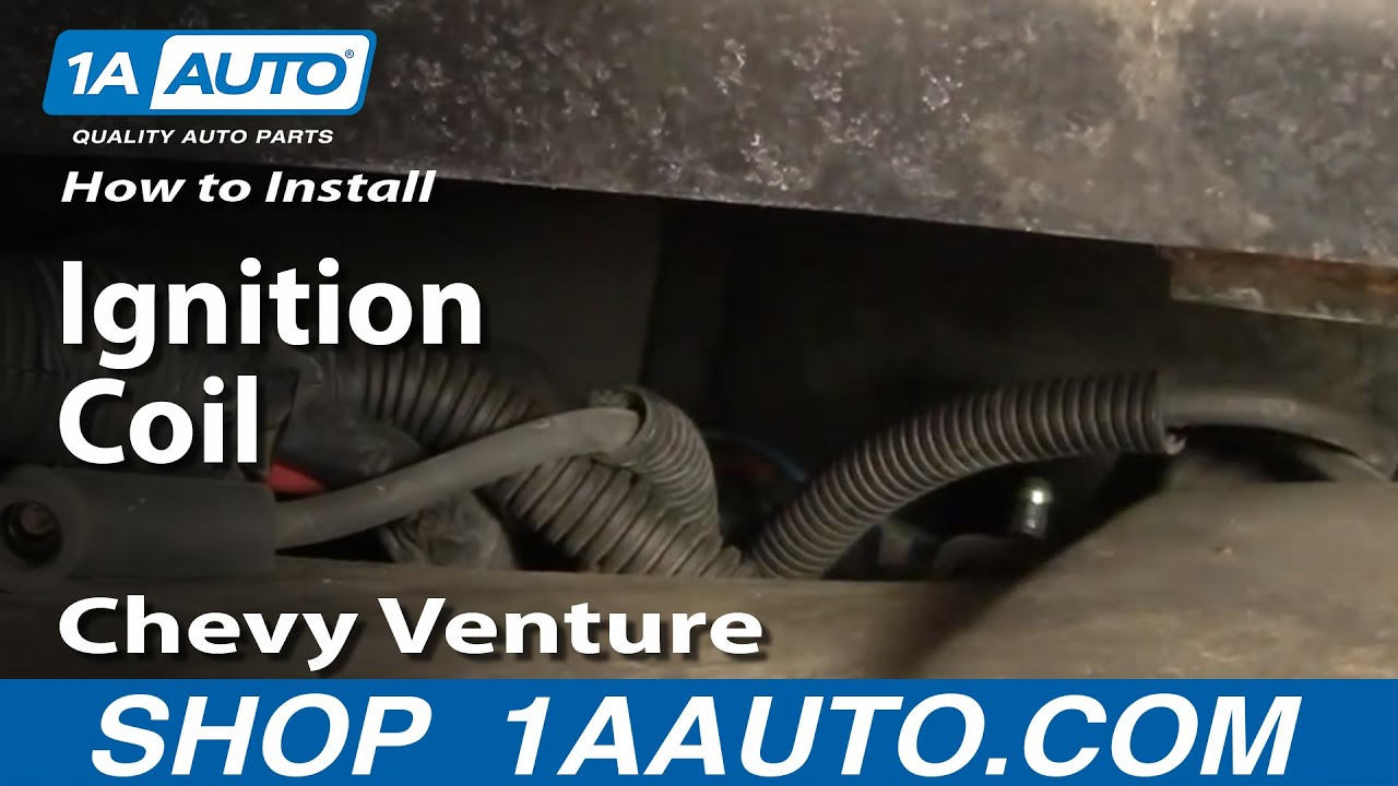 hight resolution of how to replace ignition coil 97 04 chevy venture and pontiac montana