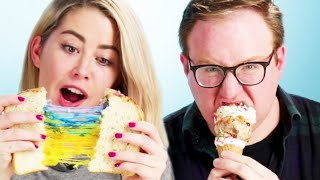 People Try Instagram-Famous Foods