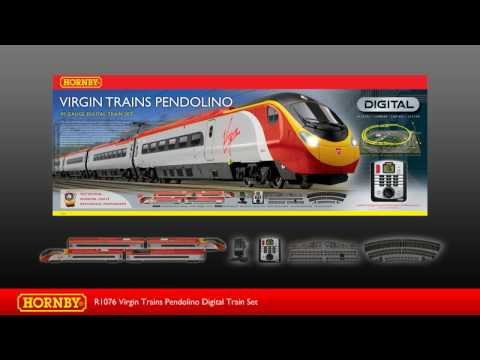 R1076 Virgin Trains Pendolino Digital Train Set