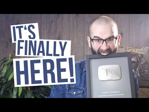 UNBOXING My Silver Play Button | 100,000 SUBSCRIBERS!