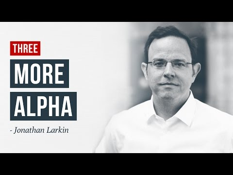 Q3: Seeking Alpha? Try MORE Alpha Factors · Jonathan Larkin