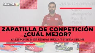 Zapatillas de Competición ¿Cuál mejor?