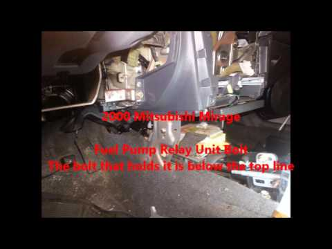 Fuel Pump Relay info - YouTube