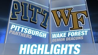 Pittsburgh vs Wake Forest | 2014-15 ACC Men