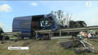 Смертельна аварія на Львівщині  включення з місця події