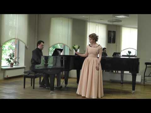 """Сидорова Софья - """"Вальс в зеркалах"""", Н. Тарасова"""