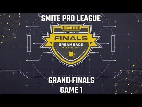 SMITE Pro League Summer Finals 2017: Grand Finals (Game 1)
