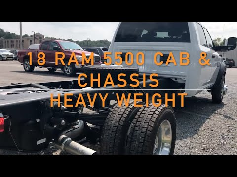18 RAM 5500 Cab & Chassis - 10,000+ Payload!!!