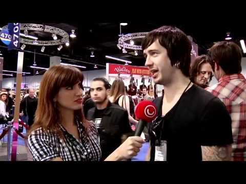 Nick Wheeler from All American Rejects Interview @ Utv