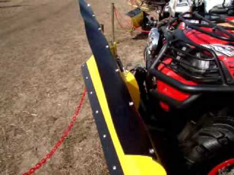 Hydraulic Power Turn Kit For All Atv And Utv Snow Plows