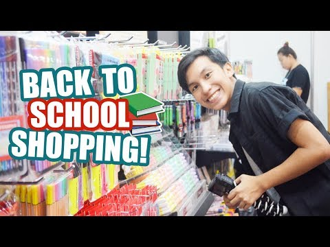 Back-To-School Shopping 2018! ft. National Book Store (Phili