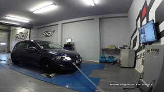 VW Golf 7 1.4 TSI 140cv Reprogrammation Moteur @ 175cv Digiservices Paris 77 Dyno