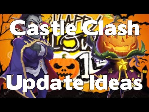 Castle Clash Halloween Update Ideas