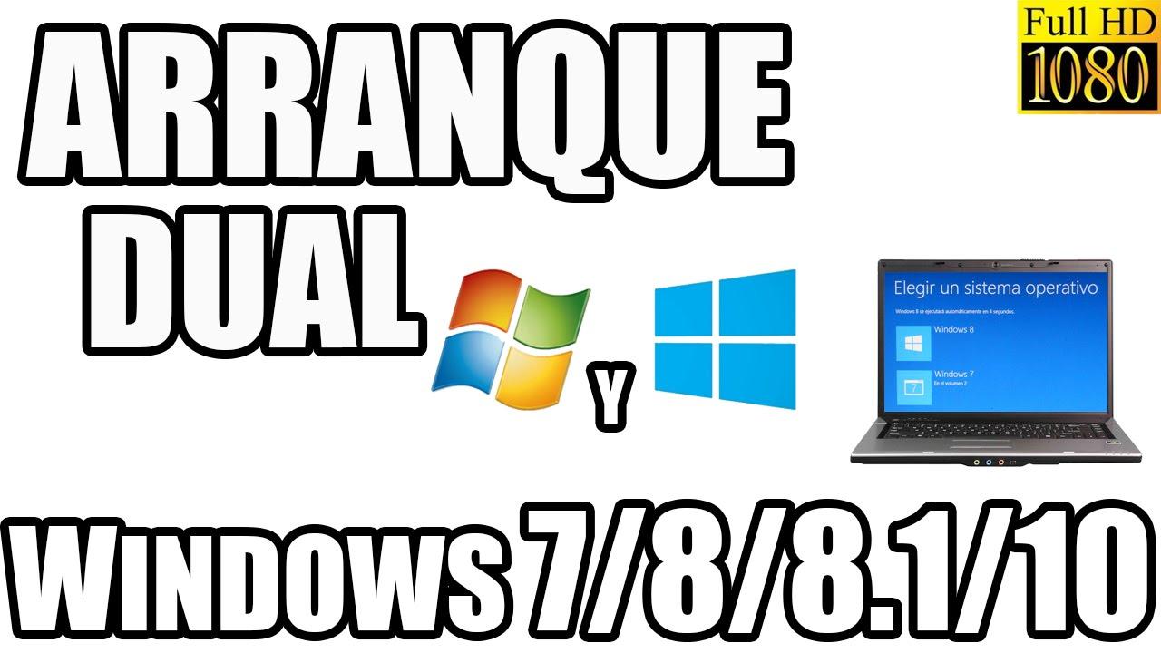 Como tener windows 7 y windows 8 8 1 10 en la misma pc for Como instalar un estor plegable