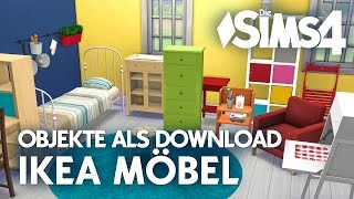 Die Sims 4: IKEA Möbel als Download (CC)