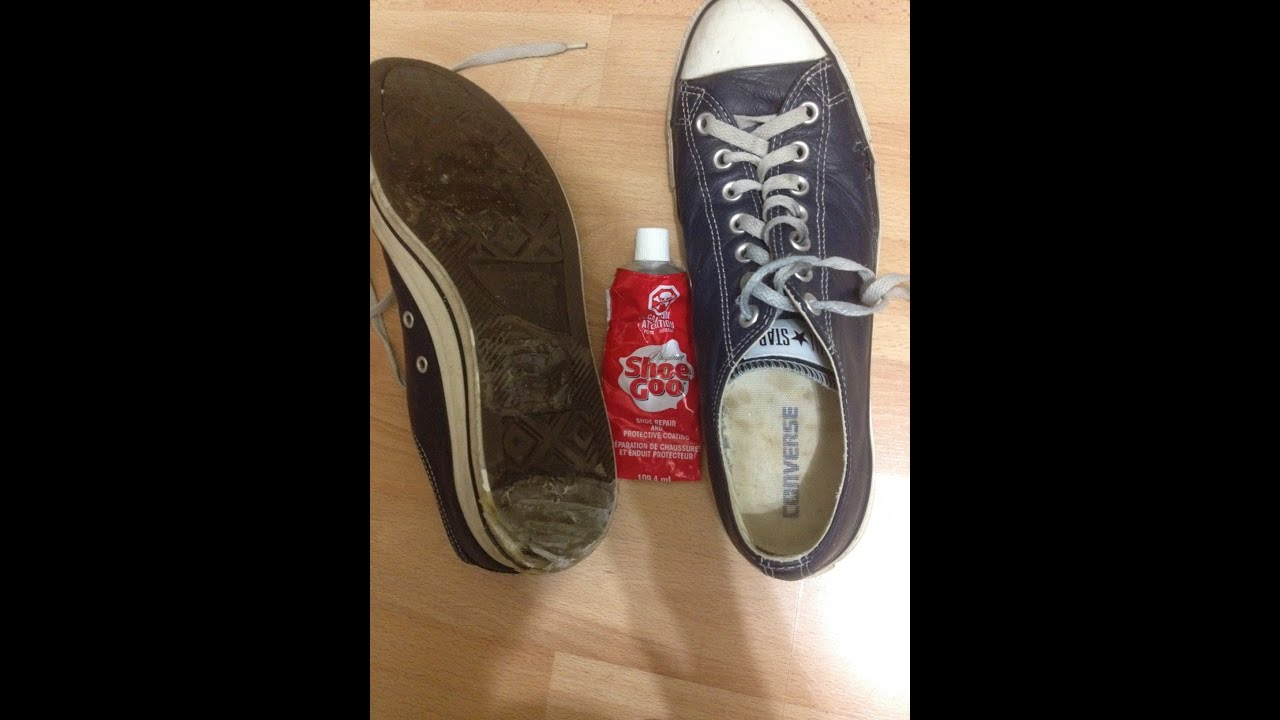 8b855163b88f How to Fix Worn Out Soles (Converse Allstars) - YouTube